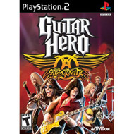 Guitar Hero Aerosmith Game Only For PlayStation 2 PS2 Music With - EE674142