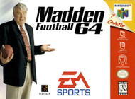Madden Football 64 For N64 Nintendo With Manual and Case - EE674228