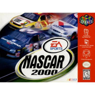 NASCAR 2000 For N64 Nintendo With Manual and Case - EE674227