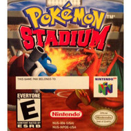 Nintendo 64 Pokemon Stadium Battle Set - ZZ674267