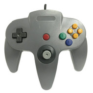 Generic Wired Game Controller For N64 Color Gray - ZZ670233