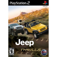 Jeep Thrills For PlayStation 2 PS2 Racing With Manual and Case - EE674699