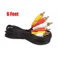 6FT RCA Audio/video Cable Audio Video RCA Cable 6FT - ZZ674753