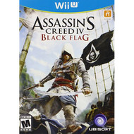 Assassin's Creed IV Black Flag For Wii U Fighting With Manual and Case - EE674944