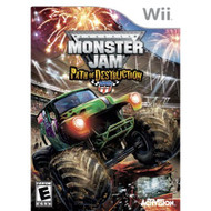 Monster Jam: Path Of Destruction For Wii Flight With Manual and Case - EE674945