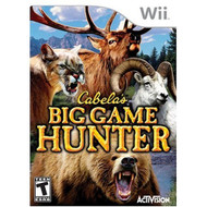 Cabelas Big Game Hunter For Wii Shooter With Manual And Case - EE675010