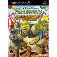 Shrek's Carnival Craze For PlayStation 2 PS2 Puzzle With Manual and - EE675179