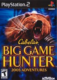 Cabela's Big Game Hunter 2005 Adventures For PlayStation 2 PS2 - EE675314