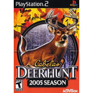 Cabela's Deer Hunt 2005 For PlayStation 2 PS2 With Manual and Case - EE675324