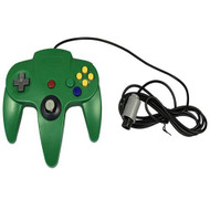 Generic Wired Game Controller For N64 Color Green - ZZ670232