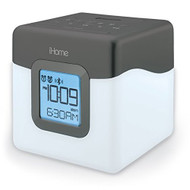 iHome IBT28GC Bluetooth Color Changing Dual Alarm Clock FM Radio With - EE675586