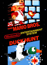 Super Mario Bros / Duck Hunt For NES Console - ZZ675776