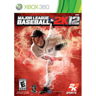 Major League Baseball 2K12 For Xbox 360 With Manual and Case - EE675926