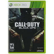 Call Of Duty: Black Ops For Xbox 360 COD Shooter With Manual And Case - EE675963