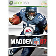 Madden NFL 07 For Xbox 360 Football With Manual And Case - EE676145
