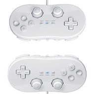 2X White Classic Pro Controller For Remote For Wii - EE676328