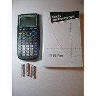 Texas Instruments TI-83 Plus Graphing Calculator And TI-83 User's - ZZ676502
