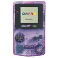 Nintendo Game Boy Color Atomic Purple System Handheld - EE676554
