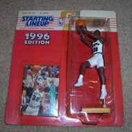 1996 Sean Elliot NBA Starting Lineup Toy Basketball - EE676703