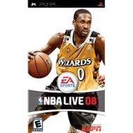NBA Live 08 Sony For PSP UMD Basketball With Manual And Case - EE676765