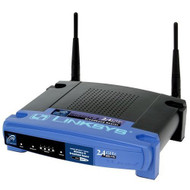 Linksys BEFW11S4 11 Mbps 4-port 10/100 Wireless B Router 2.4 GHz 802.1 - EE676831