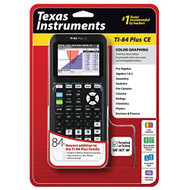 Texas Instruments TI-84 Plus Ce Graphing Calculator Black TI 84 CE - ZZ676833