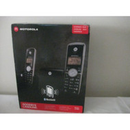 Motorola DECT 6.0 Cordless Phone With 2 Handsets Digital Answering - EE677375