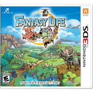 Fantasy Life For 3DS RPG With Manual and Case - EE677535