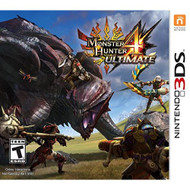 Monster Hunter 4 Ultimate Standard Edition Nintendo For 3DS RPG - EE677637