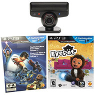 Sony PlayStation 3 Move Eye Camera Eyepet Game PS3 - ZZ677868