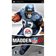 Madden NFL 07 Sony For PSP UMD Football With Manual And Case - EE677907