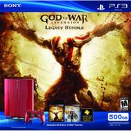 PS3 Red 500 GB God Of War Ascension Legacy Bundle - ZZ677999