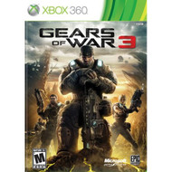 Gears Of War 3 With Manual and Case - ZZ677863