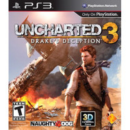 Uncharted 3: Drake's Deception PlayStation 3 With Manual and Case - ZZ678026
