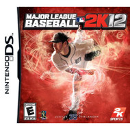 Major League Baseball 2K12 For Nintendo DS DSi 3DS 2DS With Manual and - EE678082