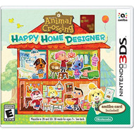 Animal Crossing: Happy Home Designer For 3DS With Manual and Case - EE678108