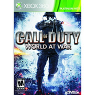 Call Of Duty: World At War Platinum Hits For Xbox 360 COD Shooter With - EE678196