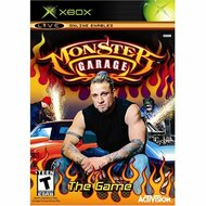 Monster Garage Xbox For Xbox Original With Manual and Case - EE678241
