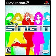 Disney Sing It PlayStation 2 For PlayStation 2 PS2 With Manual and - EE678330