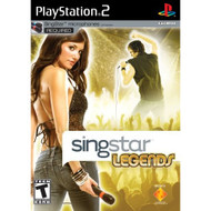 Singstar Legends Stand Alone Stand Alone For PlayStation 2 PS2 Music - EE678329