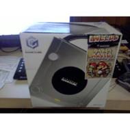 Nintendo GameCube Platinum System Console Bundle W/ Paper Mario Game - ZZ678559