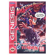Awesome Possum For Sega Genesis Vintage - EE678738