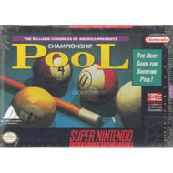 Championship Pool For Super Nintendo SNES - EE678743