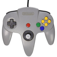 Nintendo 64 OEM Controller Original Grey For N64 Remote Gray - ZZ679085
