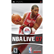 NBA Live 07 Sony For PSP UMD Basketball With Manual and Case - EE679225