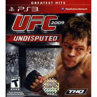 UFC Undisputed 2009 For PlayStation 3 PS3 Wrestling With Manual And - EE679229