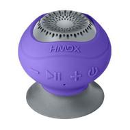 HMDX HX-P120PU Homedics Neutron Wireless Suction Speaker Purple - EE679303