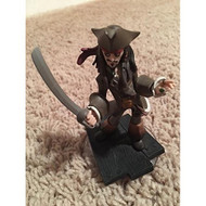 Captain Jack Sparrow Disney Infinity Figure Loose No Card Character - EE679514