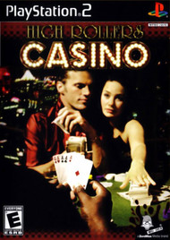 High Rollers Casino For PlayStation 2 PS2 With Manual and Case - EE679624