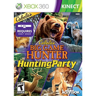 Cabela's Big Game Hunter: Hunting Party Video Game Kinect Game Only - EE679715